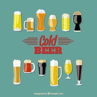 Art der biere sammlung