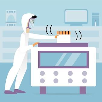 Art des coronavirus-tests