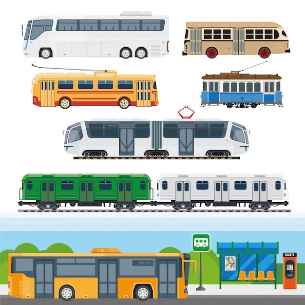 Arten von bussen