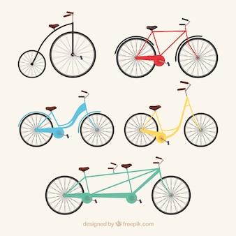 Arten von vintage-fahrrad
