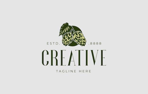 Artischocken-logo-design-vorlage