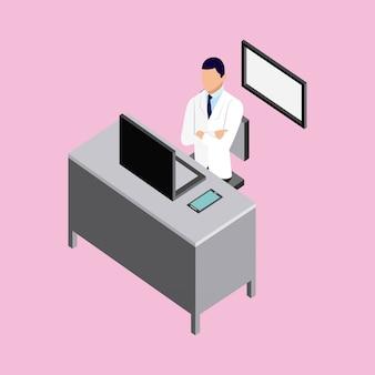 Arzt für medizinische gesundheit