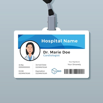 Arzt id-karte