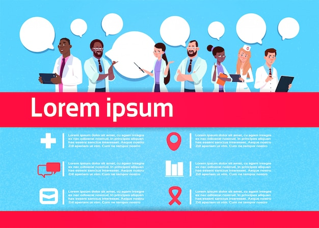 Arzt kommunikation infographik vorlage
