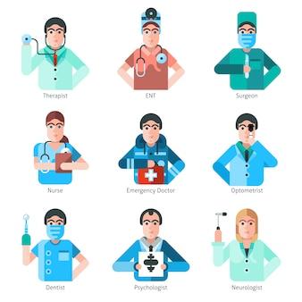 Arzt-zeichensatz