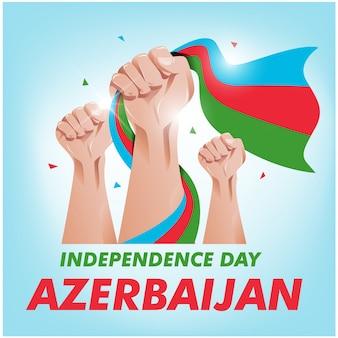 Aserbaidschan unabhängigkeitstag