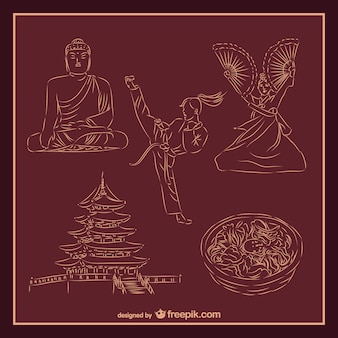 Asiatische kultur und kampfkunst