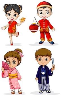 Asiatische menschen
