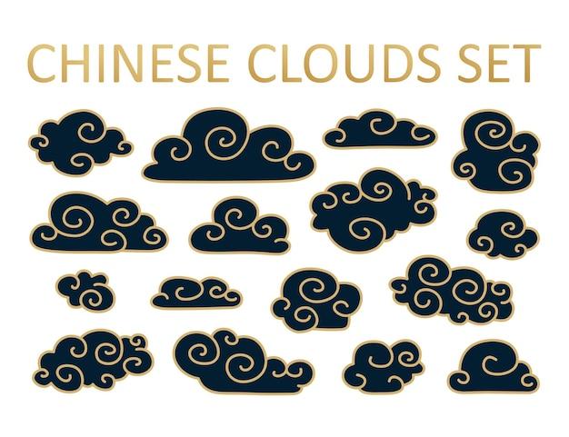 Asiatische wolke im japanischen stil