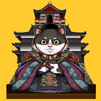 Asiatischer kaiser cat