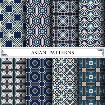 Asiatisches vektormuster