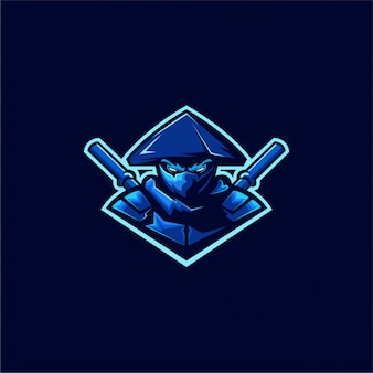 Assassin ninja-logo-design