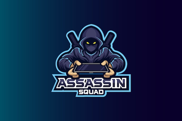 Assassin squad esport logo