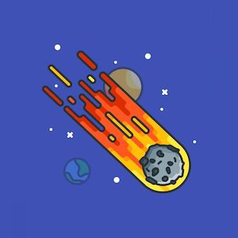 Asteroiden-illustrationen