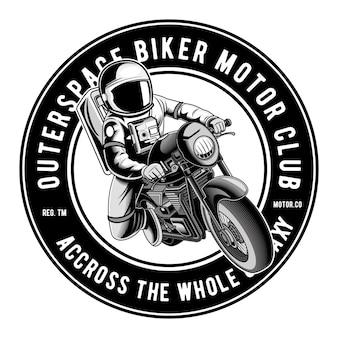Astro biker