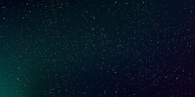 Astrologie horizontaler sternenuniversumhintergrund