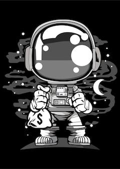 Astronaut chibi