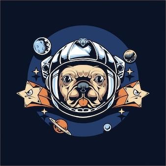 Astronaut mops