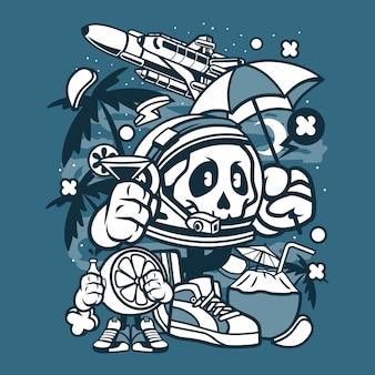 Astronaut urlaub