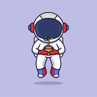 Astronauten-halteanlage