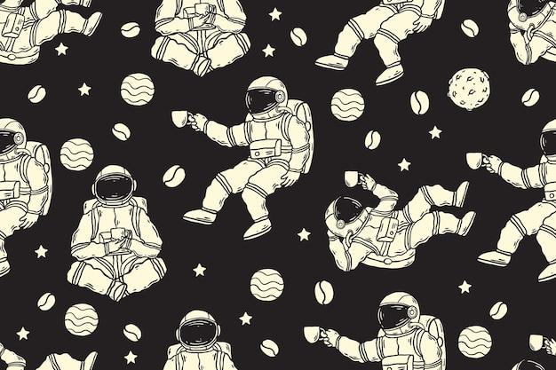 Astronautenmuster