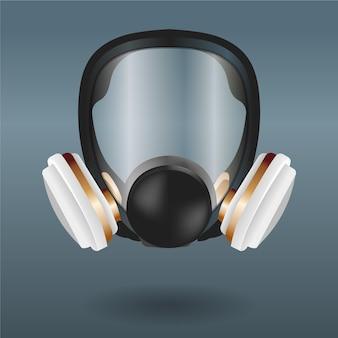 Atemschutzmaske für gasmasken