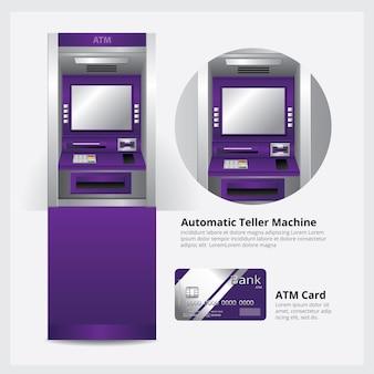 Atm geldscheinautomat
