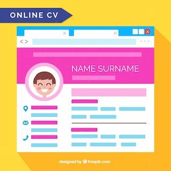 Attraktive online-lehrplan-vorlage