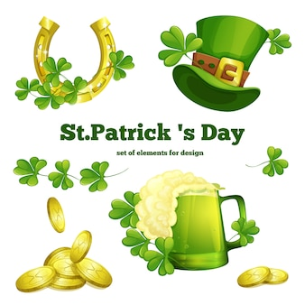 Attribute des festes von st. patrick's day