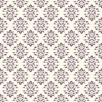 Aubergine-purpurroter dekorativer hintergrund mit sahne-farbe