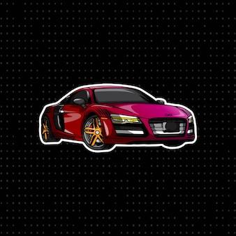 Audi august auto des handabgehobenen betrages