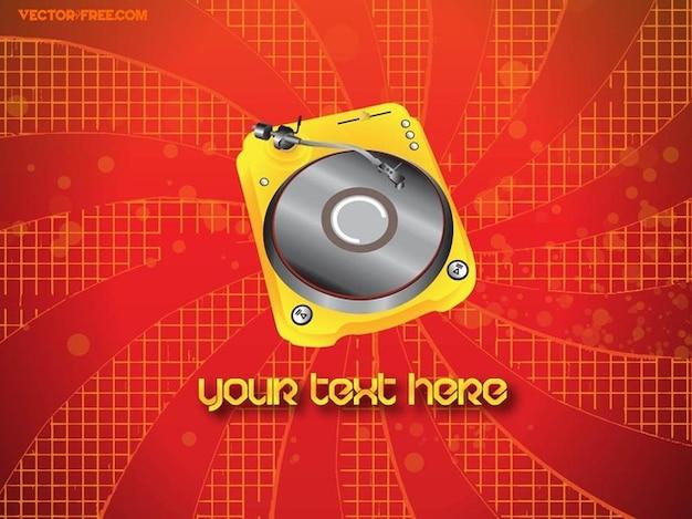 Audio music vector