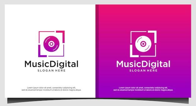 Audio-schallwellen-logo-vorlagen-lagerdesign. linie abstrakte musiktechnologie-logo. digitales elementemblem, grafische signalwellenform, kurve, lautstärke und equalizer. abbildung vektor