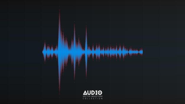 Audiowelle von