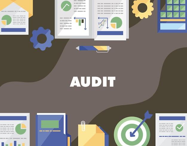 Audit-symbolsammlung