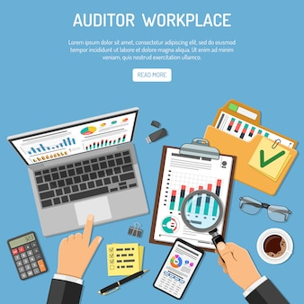 Auditor-arbeitsplatzkonzept