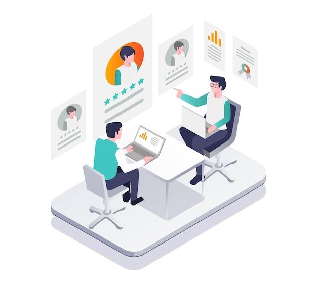 Auf der suche nach neuen mitarbeitern