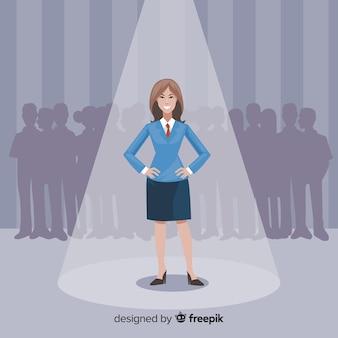 Auf der suche nach talent hintergrund