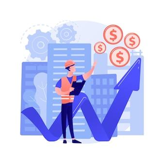 Aufbau eines abstrakten investitionskonzepts