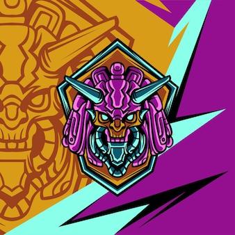 Aufbau von alien squad für logo-maskottchen-spiele oder andere