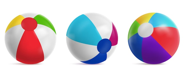 Aufblasbarer wasserball, gestreifter luftballon