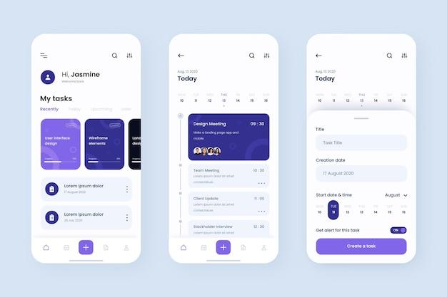 Aufgabenverwaltungs-app-vorlage