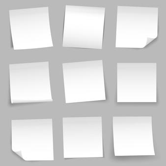 Aufkleber aus briefpapier