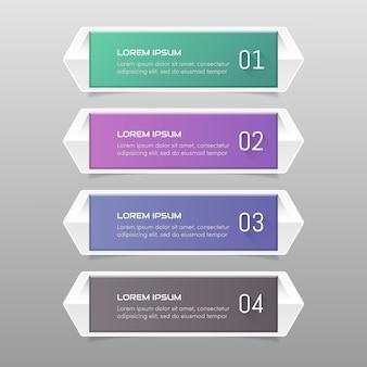 Aufkleber label bunte set