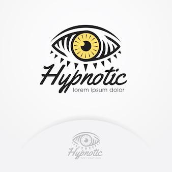 Auge der magie und hypnotiseur