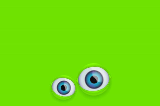 Augen auf grün