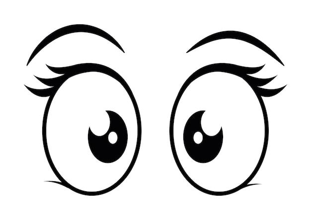 Große Augen Comic