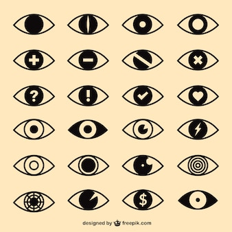 Augen-icons pack