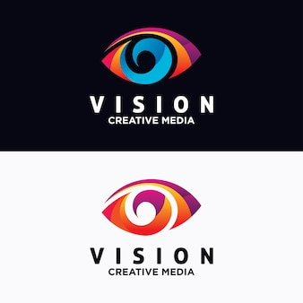 Augen logo design vektor vorlage