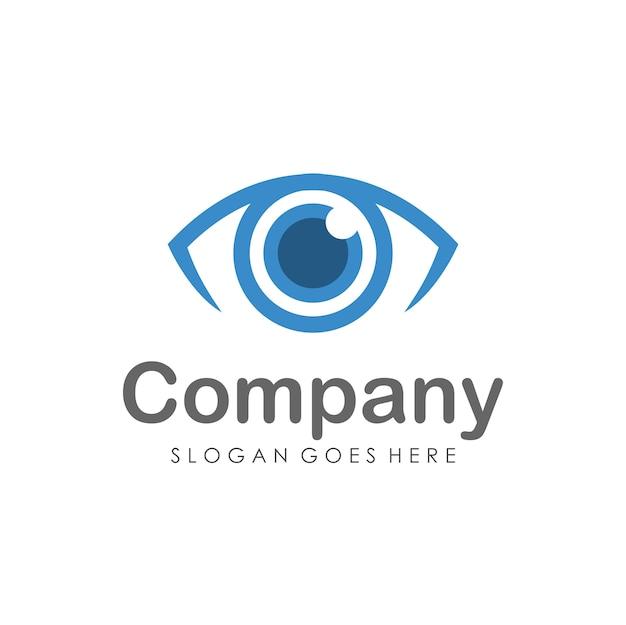 Augen-vision-logo-design-vorlage